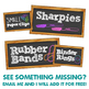 Teacher Toolbox Drawer Labels - BLACK Chalkboard Design Style