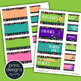 Teacher Toolbox Labels - BOHO Zentangle Design Style