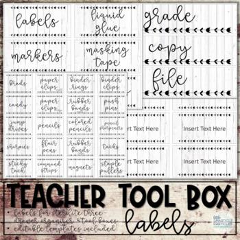Teacher Toolbox - Farmhouse