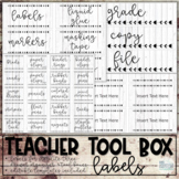 Teacher Toolbox - Farmhouse