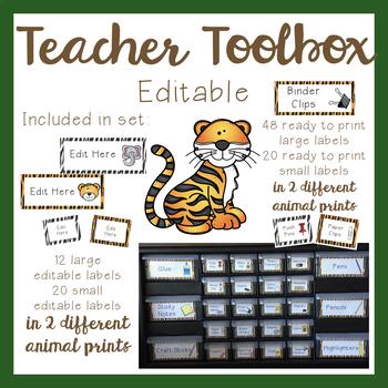 Teacher Toolbox - Jungle Theme