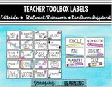 Teacher Toolbox Label Rae Dunn Inspired