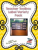 Teacher Toolbox Label Variety Pack