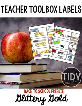 Teacher Toolbox Labels Back to School Freebie!