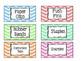 "Teacher Toolbox Labels 2""x4"""