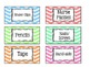 "Teacher Toolbox Labels 2""x4"""