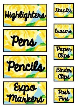 Teacher Toolbox Labels