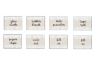 Teacher Toolbox Labels Aesthetic Black and White