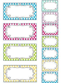 "Teacher Toolbox Labels - ""As Seen On Pinterest!"""