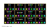 Teacher Toolbox Labels Bright Colours