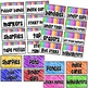 Teacher Toolbox Labels~ Bright and Editable