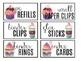 Teacher Toolbox Labels- Coffee Shop Themed EDITABLE