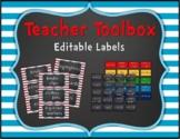 Dr. Seuss Inspired Decor: Teacher Toolbox Labels