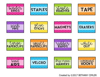 Teacher Toolbox Labels | EDITABLE