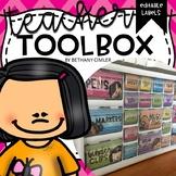 Teacher Toolbox Labels | EDITABLE