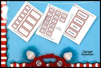 Teacher Toolbox Labels – FREE – Coordinates with Seuss-like Colors Class Theme