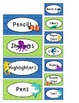 Teacher Toolbox Labels - Ocean Theme