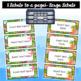 Editable Labels | Teacher Toolbox Labels | Tropical | Beach Classroom Decor