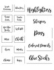 Teacher Toolbox Labels: Printer Friendly