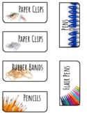 Teacher Toolbox Labels | Real Pictures | Stack-On Storage