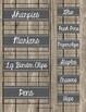 EDITABLE Teacher Toolbox Labels {Rustic Wood}