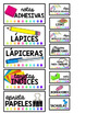 Teacher Toolbox Labels - Spanish Version