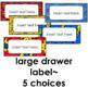 Teacher Toolbox Labels ~ Superhero Theme Editable