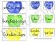 Teacher Toolbox Labels | Watercolor Hearts | FREEBIE