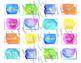 Teacher Toolbox Labels - Watercolor Theme Decor EDITABLE