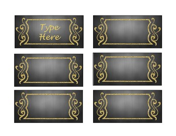 Teacher Toolbox Labels for Classroom Organization - Completely Editable FREEBIE
