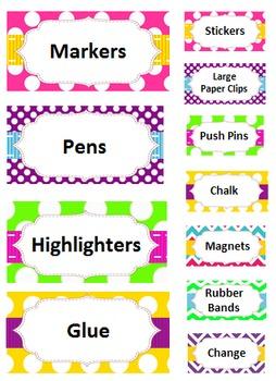 Teacher Toolbox - Multi Color Brights