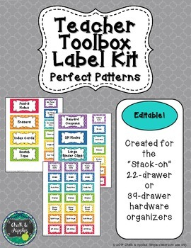 Teacher Toolbox - Perfect Patterns (Editable)