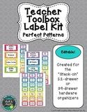 Teacher Toolbox - Perfect Patterns (Editable)