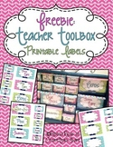 Teacher Toolbox - Printable Labels