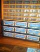 Teacher Toolbox Storage Labels - Orange & Blue {Editable}