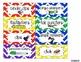 Teacher Toolbox Supply Labels: Primary Chevron