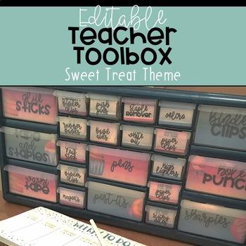Teacher Toolbox: Sweet Treat [Editable!]