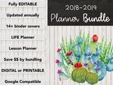 Teacher Planner 2018-2019 BUNDLE