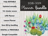 Teacher Toolbox Teaching Binder and Lesson Plan Template *