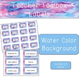 Teacher Toolbox - Watercolor