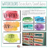 Teacher Toolbox - Watercolor Design