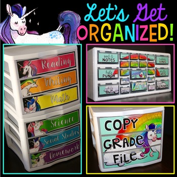 Teacher Toolbox and More - {Unicorn Theme Classroom}