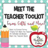 Meet the Teacher Toolkit: Forms, Gifts and More!