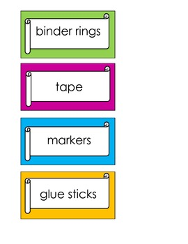 Teacher Toolkit Label