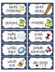 Editable Teacher Toolbox Labels with Clip Art - set 1
