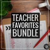Teacher Tools Bundle (Any Subject) - Grading, Surveys, Gam