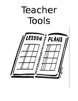 Teacher Tools:  Keep things in one binder and stay organized all year
