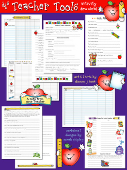 Teacher Tools Printables Download