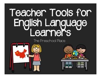 Teacher Tools for English Language Learning Classrooms- ESL/ELL/Online Teaching