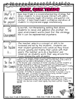Teacher Tools for Student Engagement